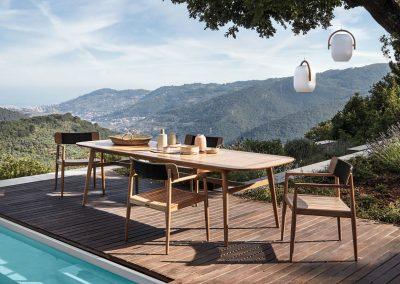 Solid Teak Outdoor Furniture form Gloster