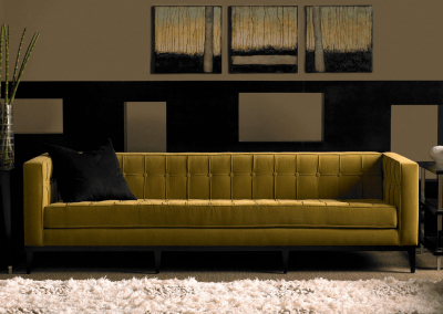Luxe sofa American Leather