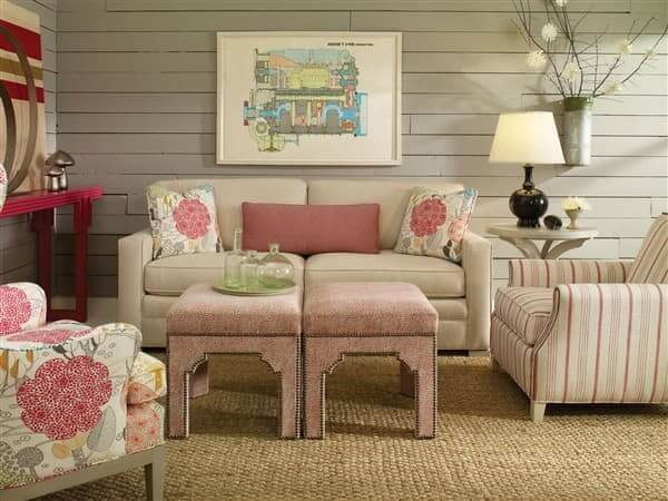 Vanguard-Traditional-Hillcrest-Sofa-with-Collette-Chair-and-Owen-Ottoman